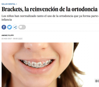 La presidenta de AESOR explica en 'El País' la importancia de la ortodoncia para la salud